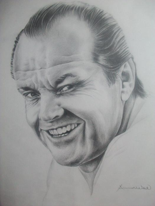 Jack Nicholson by Ammarwakil